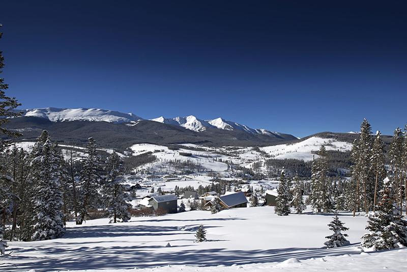 Peak 7 Slopes in Breckenridge, Colorado
