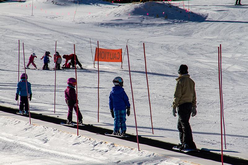 Ski School on Peak 9 in Breckenridge