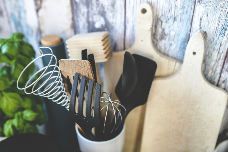 Utensils Provided in a Vacation Rental Kitchen